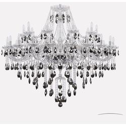Bohemia Ivele Crystal Люстра хрустальная 1415/20+10/460 Ni K731