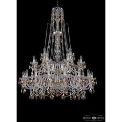 Bohemia Ivele Crystal Люстра хрустальная 1411/16+8+4/400/XL-150/2d G K777