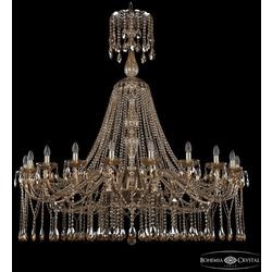 Bohemia Ivele Crystal Люстра хрустальная 1413/20/530/XL-158 G M721