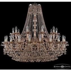 Bohemia Ivele Crystal Люстра хрустальная 1409/20+10/400 G M721