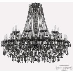 Bohemia Ivele Crystal Люстра хрустальная 1403/20+10/400 Ni M781