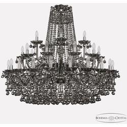 Bohemia Ivele Crystal Люстра хрустальная 1409/20+10+5/400 Ni M781
