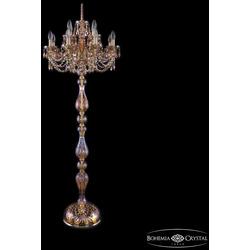 Bohemia Ivele Crystal Торшер хрустальный 1406T1/8+4/195-165 G M777