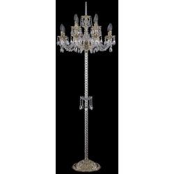 Bohemia Ivele Crystal Торшер хрустальный 16102T9/8+4/195-165 G