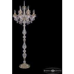 Bohemia Ivele Crystal Торшер хрустальный 16110T8/8+4/195-165 G V7010