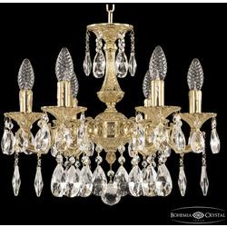 Bohemia Ivele Crystal Люстра бронзовая 72101/6/125/A G