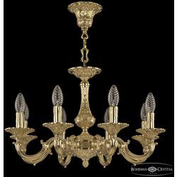 Bohemia Ivele Crystal Люстра бронзовая 72101/8/175 G